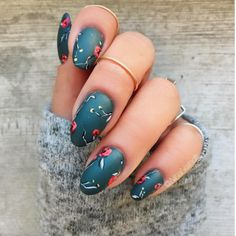 The Coolest Nail Art Ideas For Fall 2017 11 Best Fall Nail Art Designs – Best Nail Art Ideas for Autumn 2017 Fall Nail Art Designs, Pretty Nail Designs, Acrylic Nail Designs, Trendy Nail Art, Cool Nail Art, Dark Nail Art, Gel Nagel Design, Fall Acrylic Nails, Manicure Y Pedicure