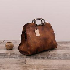 Handmade Leather Handbag Crossbody Bag Purses for Women – Brown Handmade Natural Leather Handbag Messenger Bag Shoulder Bag for Women in Brown – LISABAG Hermes Handbags, Burberry Handbags, Tote Handbags, Purses And Handbags, Cheap Handbags, Luxury Handbags, Handbags Online, Fabric Handbags, Ladies Handbags