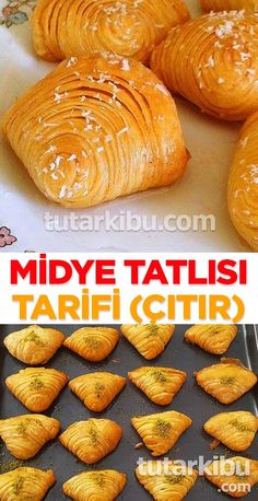 Midye Tatlısı Tarifi Appetizer Recipes, Snack Recipes, Dessert Recipes, Snacks, Turkish Recipes, Indian Food Recipes, Ethnic Recipes, Cream Cheese Taco Dip, Sausage Crockpot