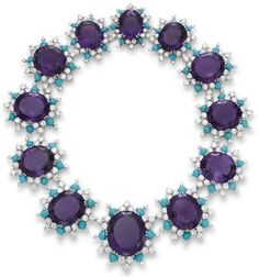 Oh, my! I would wear this everyday, even with my t-shirt and yoga pants!  Cartier necklace ca.1960 via Christie's
