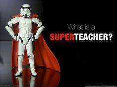 what-is-a-superteacher-12721029 by puurpleprose via Slideshare