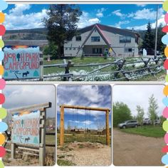 North Park Campground  has mountain views and family fun for all!