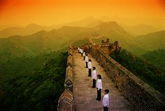 picture of Choir on the Great Wall of China