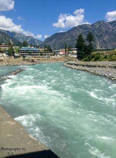 River,swat kalam Pakistan - null