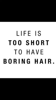 Life is too short to have boring hair, isn´t it? #goodhairday #addictionsalon