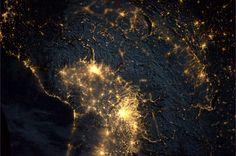 This image of light infiltration in the Alps was shared with the Earth Hour community on March 31, as the hour of inspiration made its way across Europe. André Kuipers observed the lights going off from the International Space Station. Earth Hour 2012 took place in 152 countries and territories and nearly 7000 cities and towns - the biggest growth for the campaign since 2009. This is our planet - what are you willing to do to protect it?
