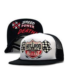 Hotrod Hellcat Herren DECAL Kappe/Cap.Biker,Oldschool,Tattoo,Custom Style
