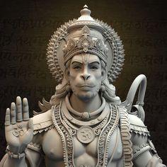 Vijayanjaneya is one of the names of Lord Hanuman....... Here is the Vijayanjaneya Statue done for Spiritual Om City walk though (Ramoji Film City). Following is the link for same. https://www.youtube.com/watch?v=4uqMziIIHUk