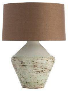 Hopeton Table Lamp, Brown