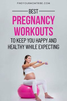 The best pregnancy workouts for every mom-to-be. A prenatal workout routine will keep your body, mind, and soul healthy and happy! Best Pregnancy Workouts, Pregnancy Pilates, Healthy Pregnancy Tips, Prenatal Workout, Prenatal Yoga, Happy Pregnancy, Lifting Workouts, Fitness Workouts, Muscles In Your Body