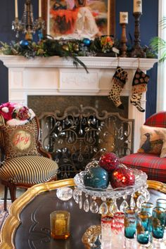 Romancing the Home: Christmas Magic throughout the House