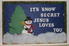 Kids winter craft/ or cute bulletin board idea Kids winter craft/ or cute bulletin board idea Religious Bulletin Boards, Christian Bulletin Boards, Preschool Bulletin Boards, Classroom Bulletin Boards, Bullentin Boards, Classroom Door, Preschool Door, December Bulletin Boards, Winter Bulletin Boards