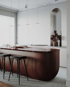 S&T ARCHITECTES Projet : Appartement à Sabanskoye Localisation : Ukraine Année : 2018 Aire : 90m2 --------------- PERSPECTIVE par Vanessa Millette