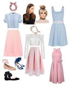 """Arina's pastel look"" by arini-lioni on Polyvore featuring Prada, Boohoo, Chicwish, 424 Fifth, Gianvito Rossi, Stuart Weitzman, LullaBellz, men's fashion and menswear"