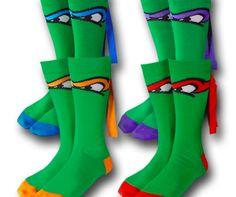 TMNT-socks I want a pair.