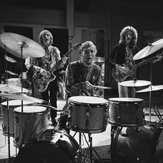 Cream performing on the Dutch television program Fanclub in 1968
