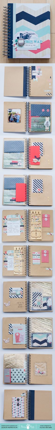 Fancy Pants Designs brag books are on sale right now!! Get inspired with Alexes Brown's awesome tutorial, then head to Blitsy to get started!