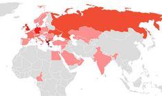 Χάρτης: Πόσοι (και πού) είναι οι Έλληνες του εξωτερικού - Έλληνες της διασποράς - NEWS247
