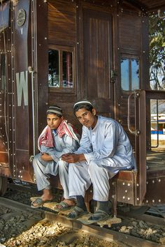 The last train, Golra Sharif Railway Museum. The Railway Museum is located at a junction station in the Rawalpindi Division of Pakistan Railways in the southeast of the Margalla Hills and east of the ancient city of Taxila. (V)