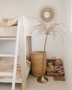 All natural kid's bedroom