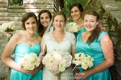 Bridesmaids shot. Rustic Wedding at the Tea Room at Norris Dam State Park in Norris, TN.