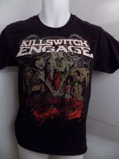 Killswitch Engage Concert T Shirt Size Small Black