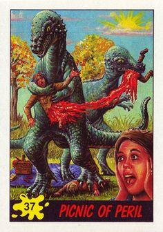 Picnic gone bad! I knew I heard something in the bushes. mysteriously-carnivorous-pachycephalosaurus hugs