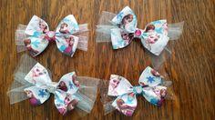Disney Frozen Anna, Elsa hair bows, great party favors!