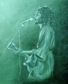 Peter Tosh 1 Art Print by Michael Morgan. All prints are professionally printed, packaged, and shipped within 3 - 4 business days. Monochromatic Color Scheme, Colour Schemes, Peter Tosh, South African Art, Music Painting, Art Curriculum, Thing 1, Acrylic Colors, Art Education