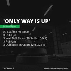 Crossfit At Home, Crossfit Wods, Workout Board, Fit Board Workouts, Work Outs, Excercise, Hiit, Health Fitness, Motivation