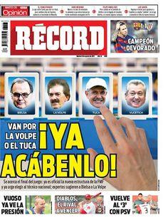 México - RÉCORD 18 de agosto del 2015