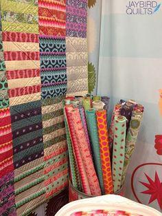 Jaybird Quilts: Fall 2013 Quilt Market - Recap #2 - The Tula Pink Edition