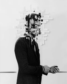 Autorretratos en blanco y negro que capturan la angustia de vivir con depresión…