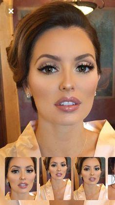 Wedding Makeup Tips, Natural Wedding Makeup, Bridal Hair And Makeup, Bride Makeup, Prom Makeup, Wedding Hair And Makeup, Wedding Beauty, Hair Wedding, Eye Makeup