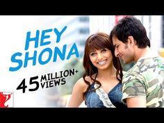 Hey Shona - Full Song | Ta Ra Rum Pum, Saif Ali Khan, Rani Mukerji, Vishal & Shekhar, Shaan, Sunidhi - YouTube