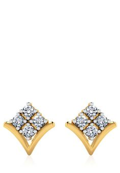 Gold Jewelry Buyers Near Me Real Gold Jewelry, Ear Jewelry, Jewelery, Gold Jewellery, Diamond Earrings Indian, Gold Earrings Designs, Quartz Jewelry, Gold Bar Necklace, Stone Earrings