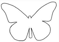 4 verschillende sjablonen Butterfly Template, Butterfly Pattern, Butterfly Art, Butterflies, Crafts To Do, Crafts For Kids, Hello Kitty Drawing, Free Applique Patterns, Butterfly Coloring Page