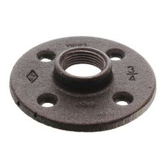 "3/4"" Black Floor Flange Product Image"