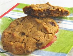 A Win of Omission: Peanut Butter Chocolate Chip Cookies | Diet, Dessert and Dogs