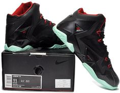 timeless design de67e a043f Nike Lebron 11 Black Red Green Shoes, cheap Lebron 11 Mens, If you want to look  Nike Lebron 11 Black Red Green Shoes, you can view the Lebron 11 Mens ...
