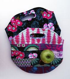 Insulated Lunch Sack Tutorial & Pdf pattern | Sew Mama Sew |