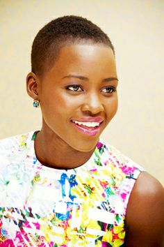 Lupita Nyong'o - Beautiful but if I find out they lightened her complexion I will be jeering disappointed