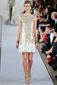 Oscar de la Renta New York - Pre-collezioni Primavera Estate 2013 - Vogue Look Fashion, Runway Fashion, High Fashion, Womens Fashion, Fashion Design, Fashion Trends, Fashion Ideas, Haute Couture Style, Vogue