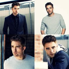 NEW Robert Pattinson Photoshoot Outtakes