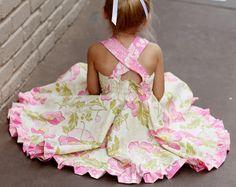 Holland Dress Pattern Baby & Toddler by PetitePatterns on Etsy 2 of 2 Kids Dress Pants, Kids Dress Clothes, Baby Girl Dress Patterns, Baby Patterns, Baby Dress, Little Girl Dresses, Girls Dresses, Vestidos Sport, Pattern Baby