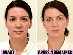 Une femme boit 3 litres d'eau chaque jour pendant quatre semaines et les résultats de la photo finale sont choquants!