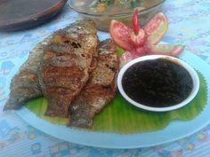 Ikan Mujair Goreng garing & Sambal Cici