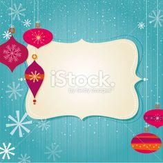 Christmas frame Royalty Free Stock Vector Art Illustration