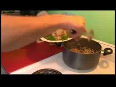 Great Spanish Shrimp Recipe : Serving Spanish Shrimp & Kidney Beans, ,
