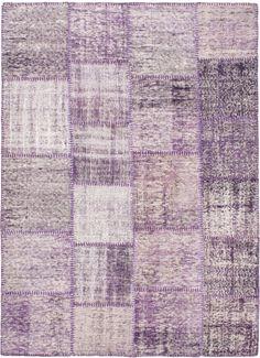 ALANGOO - Lavender Scent Vintage Patchwork Persian Rug